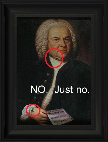 Bach as Shadowhunter nonsense.