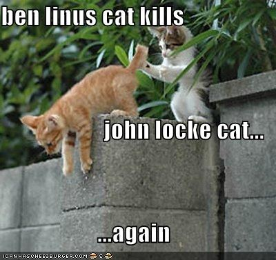 Ben Linus LOL cat