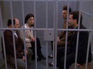 Seinfeld finale in jail