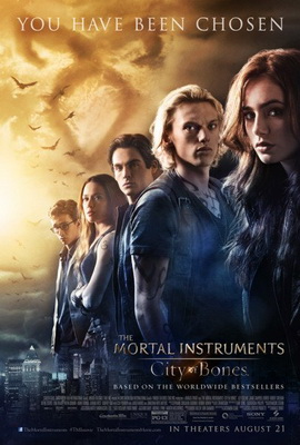 Mortal Instruments City of Bones Movie Poster