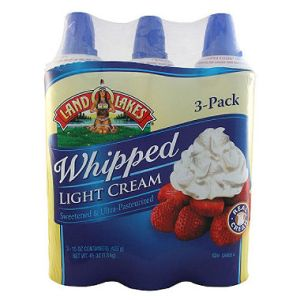 Land O Lakes Whipped Cream