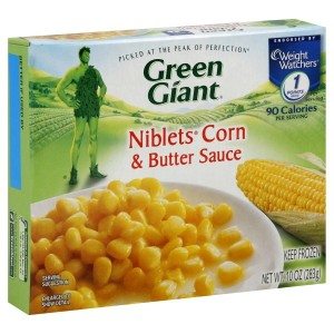 Green Giant frozen Niblets in Butter Sauce
