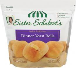 Sister Schubert's yeast dinner rolls
