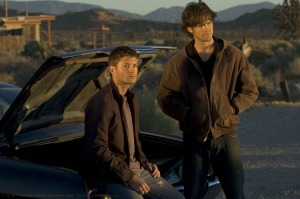 If you get bored in season one, you can laugh at Sam's bad hair.