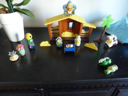 veggietales nativity