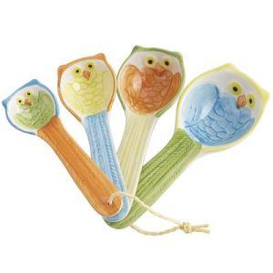 owl spoons