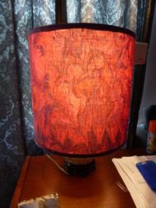 lamp lit